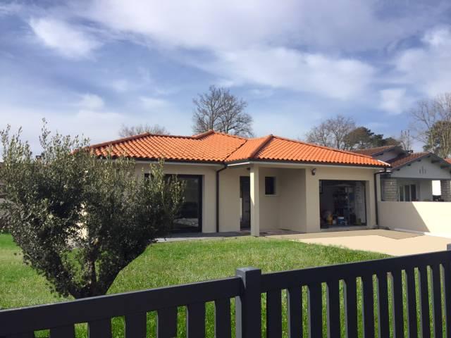 Maison de plain pied biganos en gironde constructeur for Constructeur maison langon