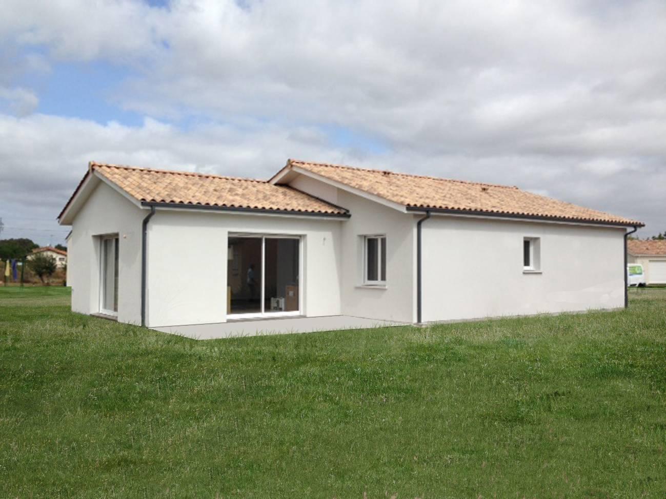 Maison individuelle sur yvrac en gironde constructeur de for Constructeur maison langon