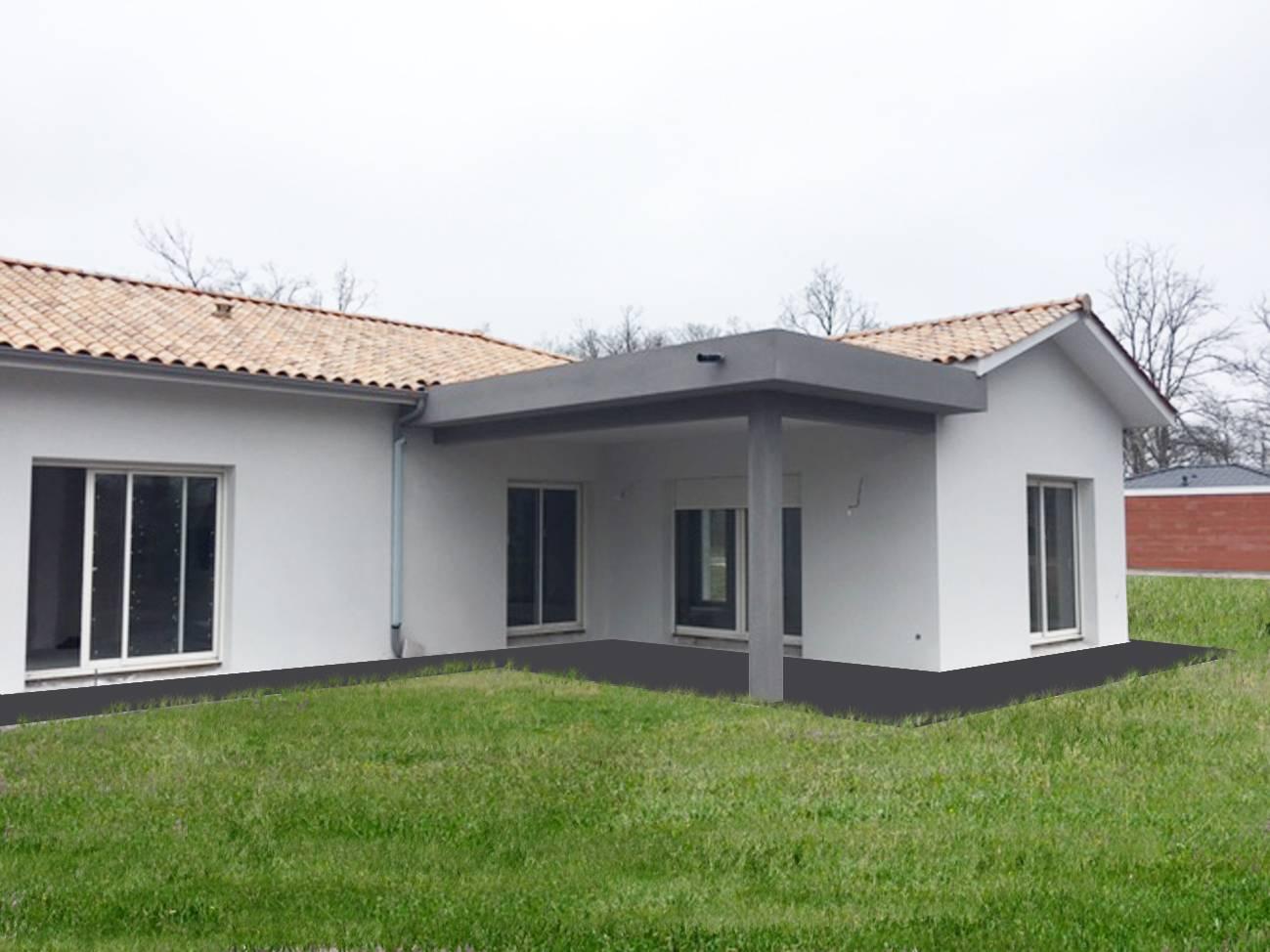 Maison individuelle plein pied gironde constructeur de for Tarif constructeur maison individuelle