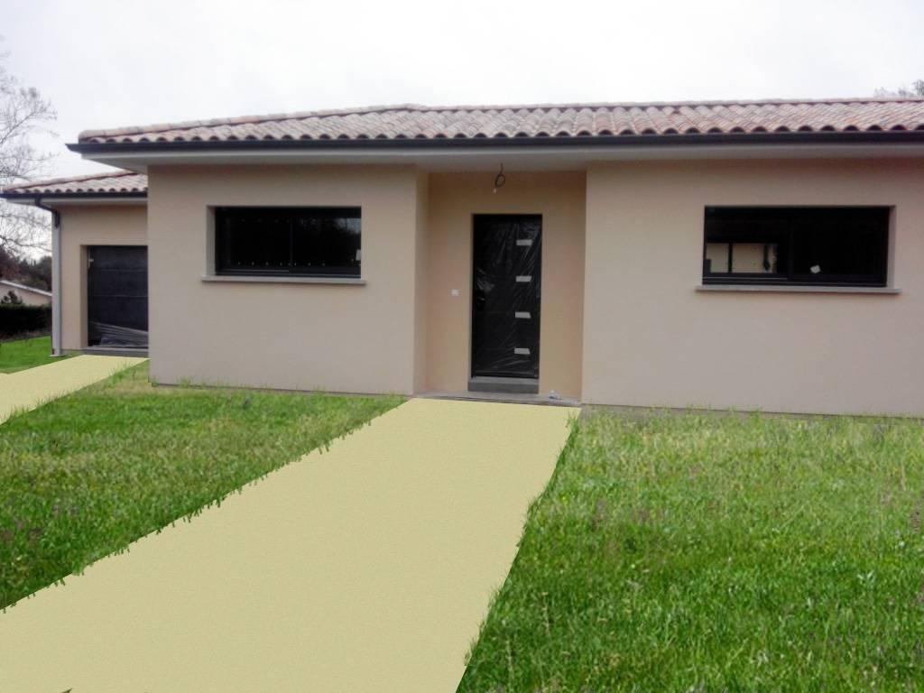 Maison avec garage latresne constructeur de maison for Constructeur maison 64