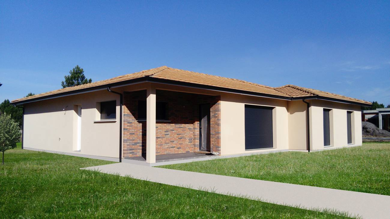Maison moderne constructeur de maison individuelle for Constructeur maison bordeaux