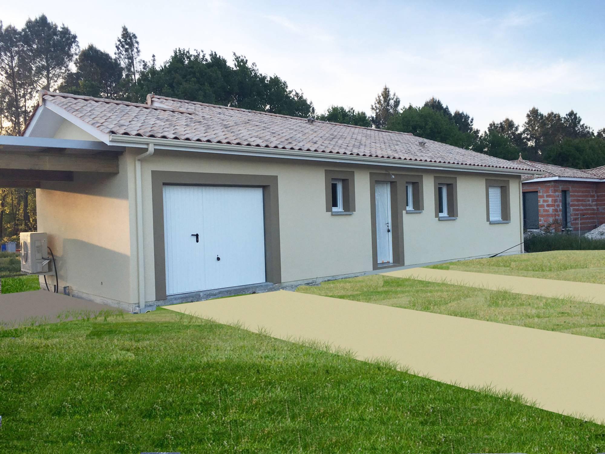 Maison plein pied avec garage DANS LE SUD OUEST - Constructeur de ...